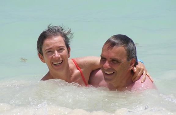 Sylvain et Cecile - Le paradis ca doit ressembler un peu a ca ...